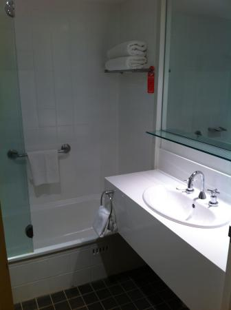Travelodge Hotel Newcastle: Bathroom
