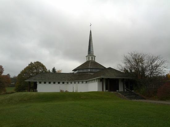 Pine City, NY: Mount Saviour Monastery Chapel
