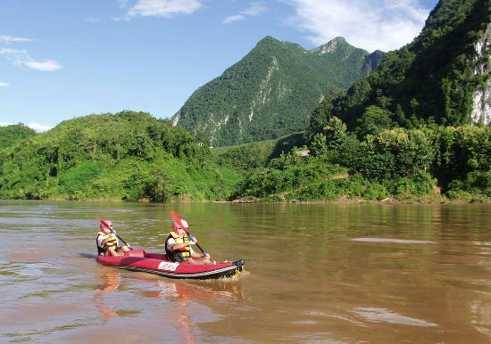 Nong Khiaw, Laos: Kayaking Nam Ou with Green Discovery