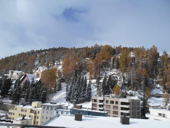 Hotel Schweizerhof: Vista do terraço