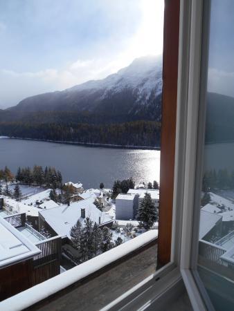 Hotel Schweizerhof: Vista do quarto