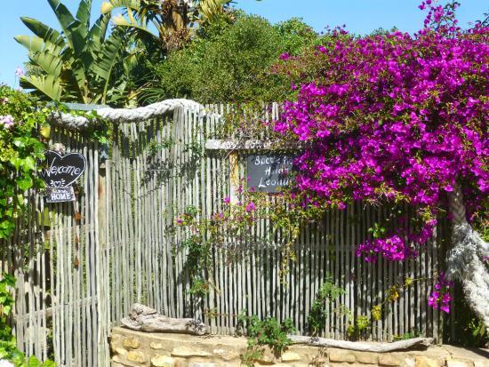 Stone Cottage: Gate entrance to Boetie Pierre Cottage