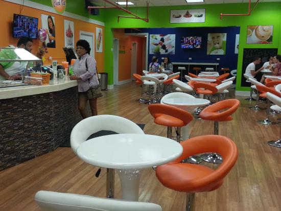 Healthy fro yo review of dynamic blendz adrian mi for Adrian fish restaurant