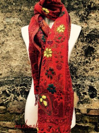 RazKashmir Crafts: boil wool shawl