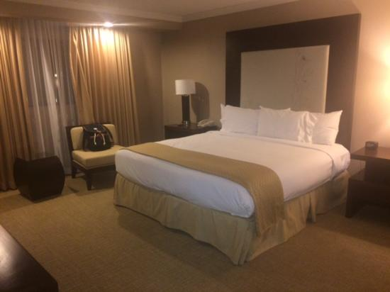 DoubleTree by Hilton Hotel Sonoma Wine Country : Comfy king bed