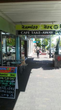 Bamboo Box: Outside of shop