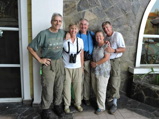 Birding Pipeline Panama : End of a great day!