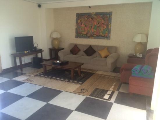 The Khayangan Villas : Living area