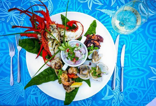 Si'umu, Samoa: Fresh seafood