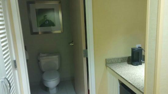 Buffalo Marriott Niagara: Banheiro grande