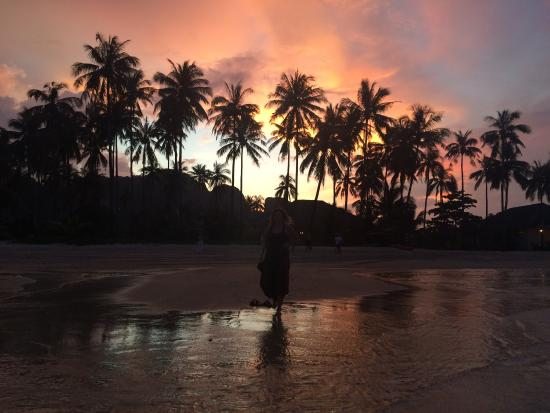 PP Red Tuna Hut : Great sunset! Very private