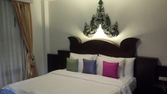 Nicha Hua Hin: Comfy bed