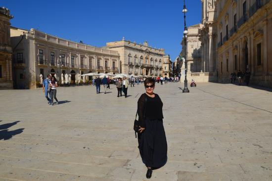 Aretusa Vacanze : Главная площадь Сиракуз
