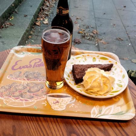 Evas Paley Cafe: Bottled beer