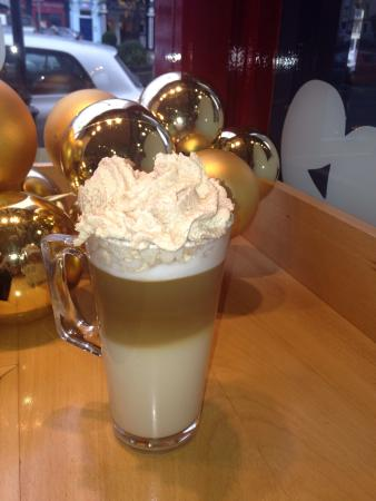 The Lazy Bean Cafe: Delicious Christmas gingerbread latte !!