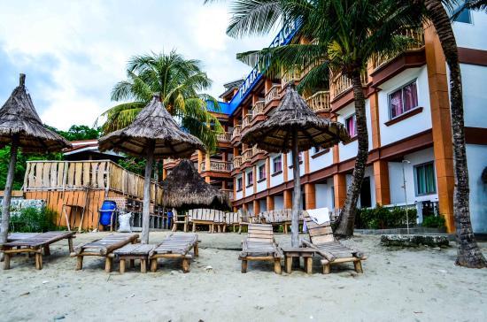 Tamaraw Beach Resort Front