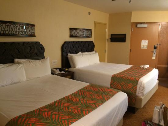 Disney S Caribbean Beach Resort Renovated Room In Jamaica