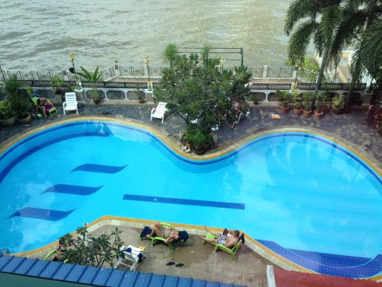 New Siam Riverside Guest House: pool
