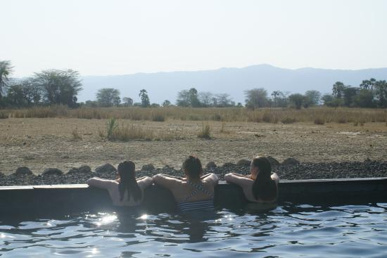 Chem Chem Safari Lodge: Perfect way to wash away the dust of a all day game drive.