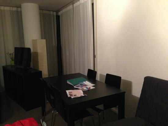 Allmend Apartments: Inside the room