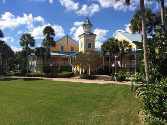 Disney S Caribbean Beach Resort Jamaica Building 45 Water View