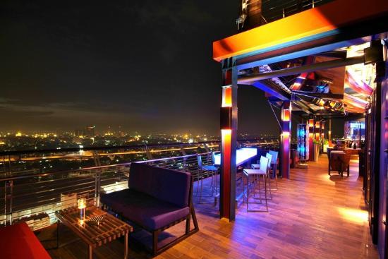 The roof gastro picture of siam siam design hotel for Design hotel 69