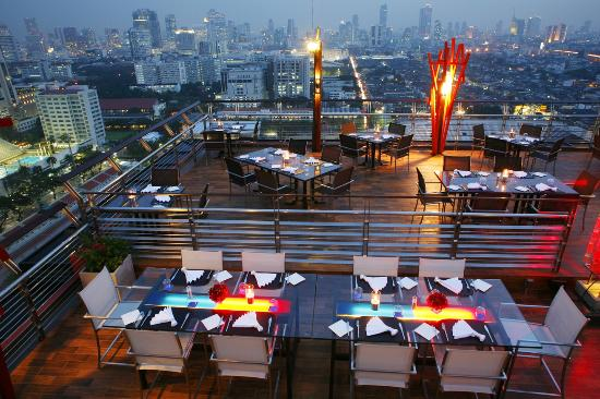 Siam@Siam Design Hotel Bangkok: The Roof