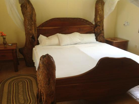 Villa Annchen: wonderful bed