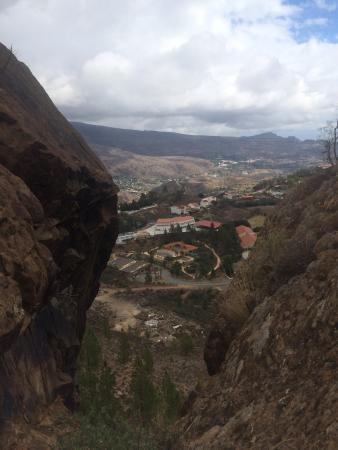 Hotel Rural Las Tirajanas: Vista desde la Cruz Grande