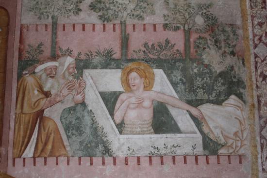 Spilimbergo, Italia: Duomo di Santa Maria Maggiore - Susanna im Bade