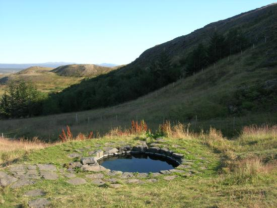 Solstice Tours: Bathing pool from Laxdæla Saga