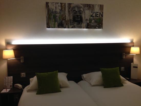 Qualys Hotel Lyon Nord: Стандартный номер