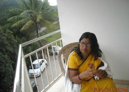 Periyar Meadows Leisure Hotel : Little Balcony