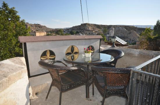 Cappadocia Abras Cave Hotel: hotel view
