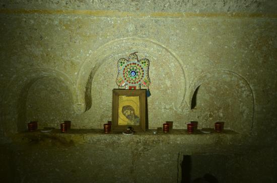 Cappadocia Abras Cave Hotel : chapel at the hotel