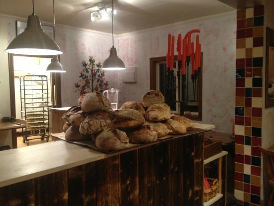Bageriet Vemdalen: Stenugnsbakat bröd på Vemdalens Bageri
