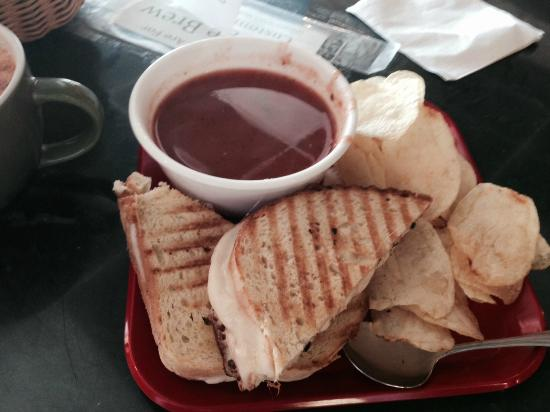 Strange Brew: Tomato Soup and Grilled Cheese