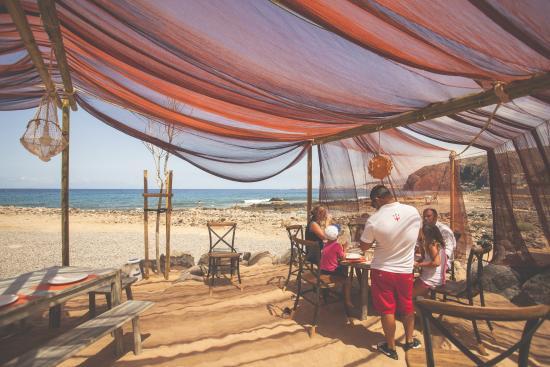 Playa con camas balinesas beach with balinese beds for Camas tenerife