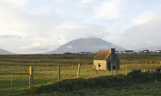 Achill Island, view from Doohoma