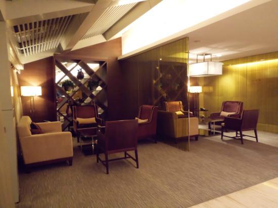 The Longemont Shanghai: Bar en el ultimo piso del hotel
