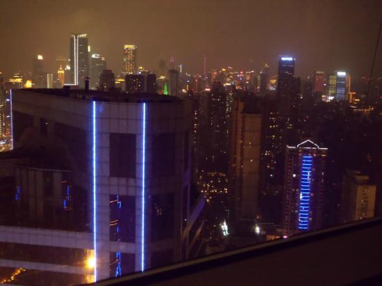 The Longemont Shanghai: Vista desde la habitacion