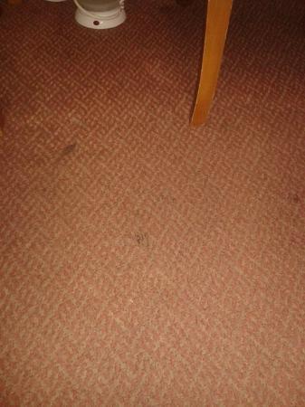 New England Hotel: Dust, dust everywhere