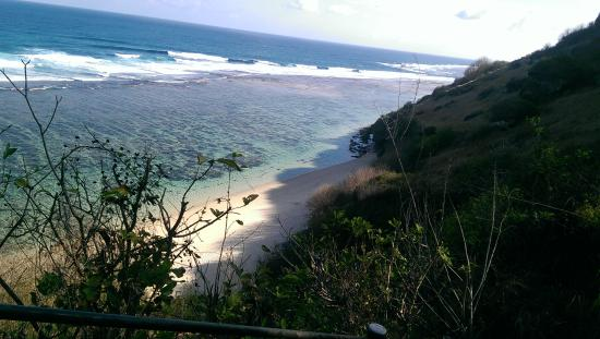 Nusa Dua Peninsula, Indonesië: Gunung payung thd hidden beach
