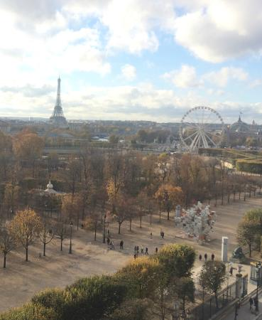 Le Meurice : view from balcony