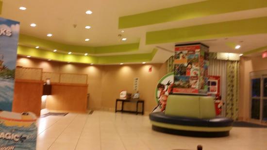 Comfort Inn Orlando/ Lake Buena Vista : La recepción