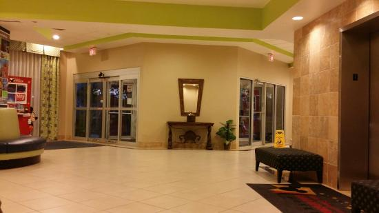 Comfort Inn Orlando/ Lake Buena Vista: La entrada