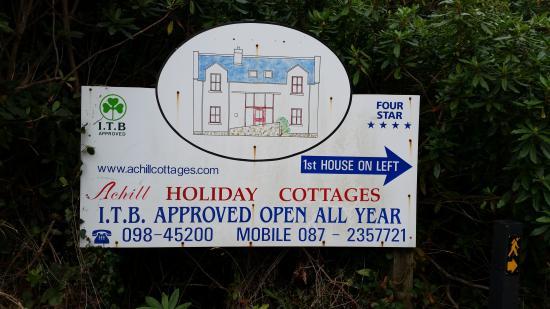 Achill Sound, Ierland: Achill Cottages