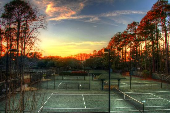 Wachesaw Plantation: Tennis Courts
