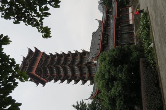 Mt. Tazi Park: The derelict pagoda, Tazishan Park