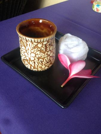 Phu Jaya Mini Resort : Very good Welcoming tea at arrival.